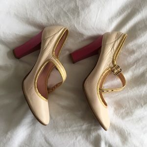 Marc Jacobs Mary Jane Heels in Light Pink